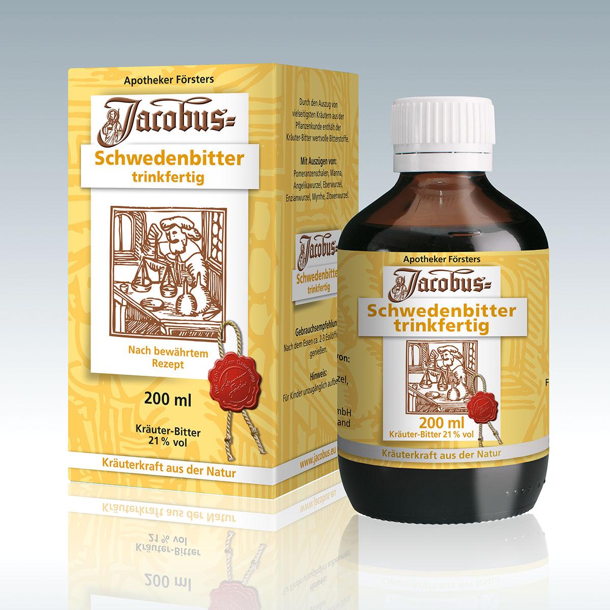 Jacobus-Schwedenbitter trinkfertig 200ml